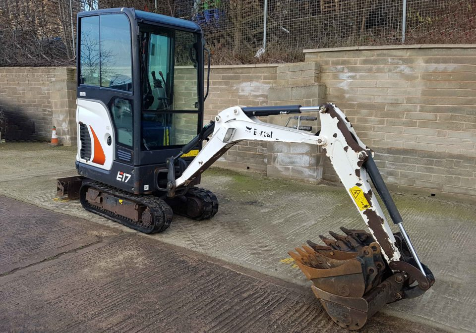 Used Bobcat E17 Micro Excavator for Sale | MTS Plant Sales