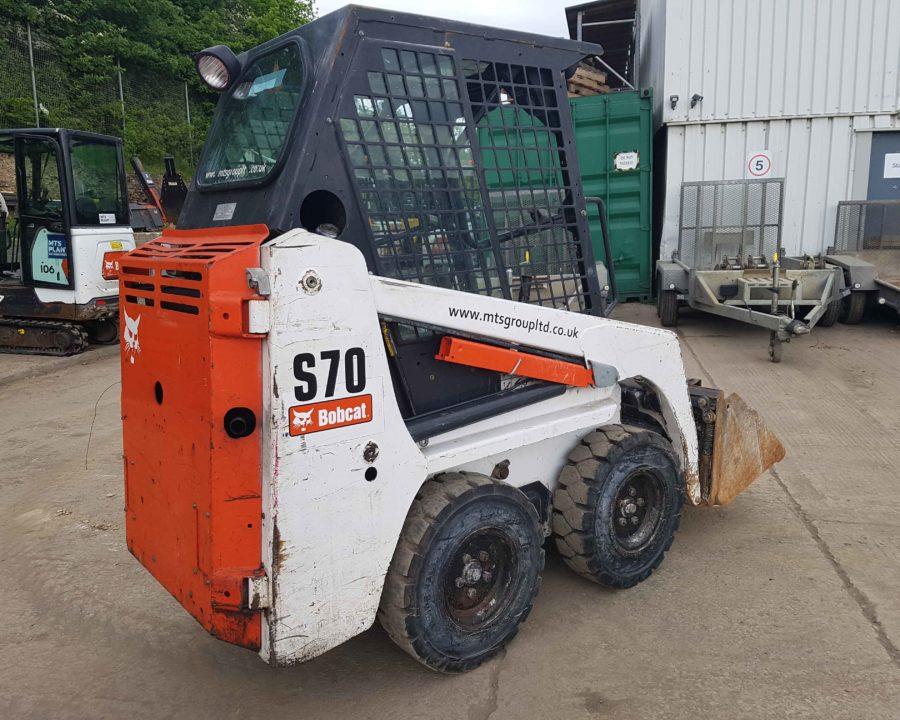 used bobcat s70 skidsteer loader for sale