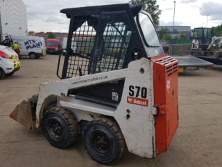 used bobcat s70 skidsteer for sales