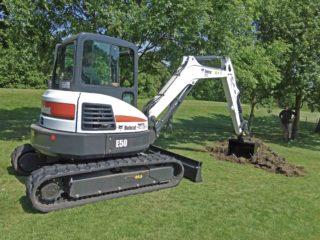 5.0 Tonne Excavator Rental
