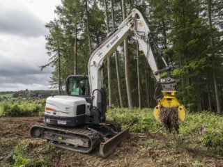 8.0 tonne excavator hire Yorkshire