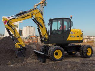 Yanmar B110 wheeled excavator sales