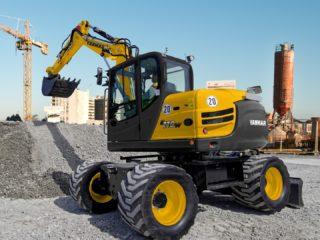 Yanmar B110 wheeled digger sales