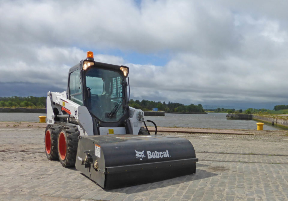 Bobact Sweeper Hire Glasgow