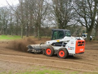 Bobcat Angle Broom Hire 10 x7