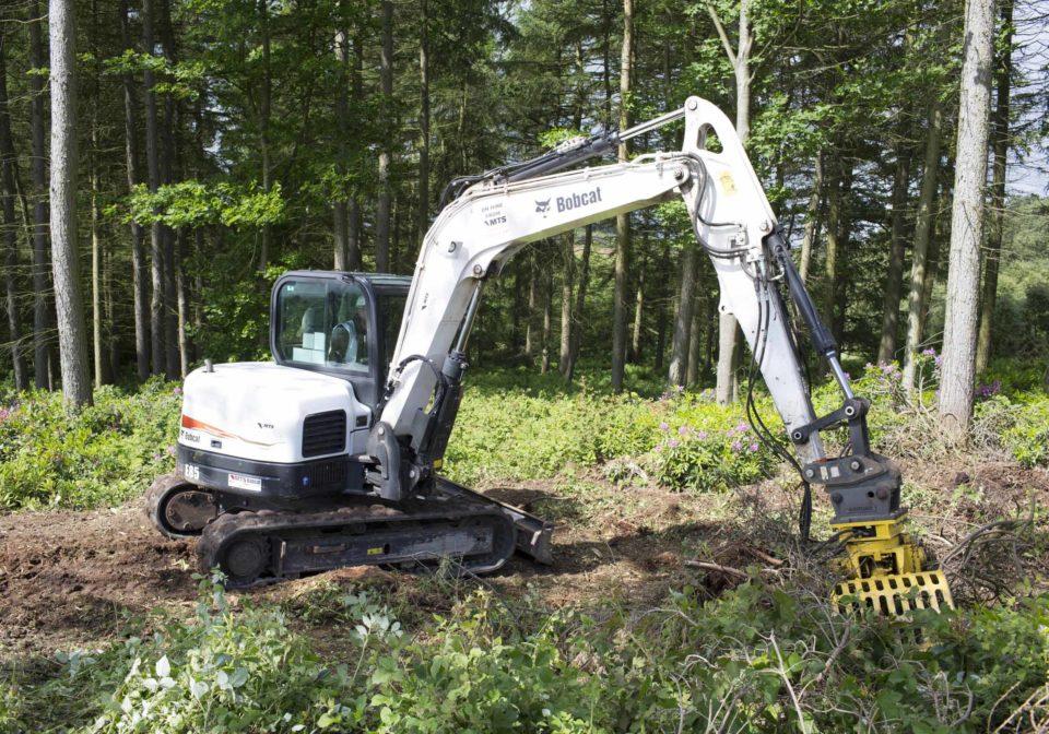 8.0t excavator hire