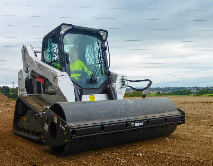 Bobcat Vibrating Roller Order Now From Mts Plant