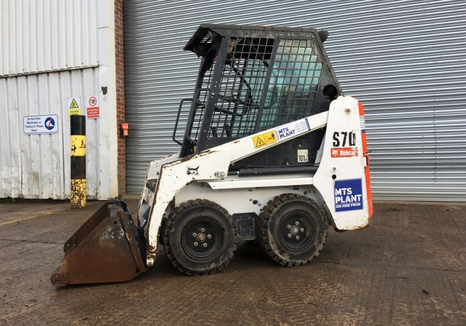 Bobcat S70 Skidsteer for hire