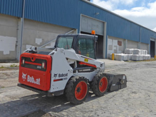 Bobcat Skidsteer and Sweeper Attachment Hire