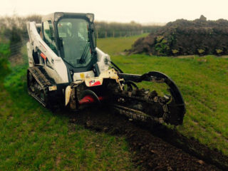 Bobcat Trencher Hire