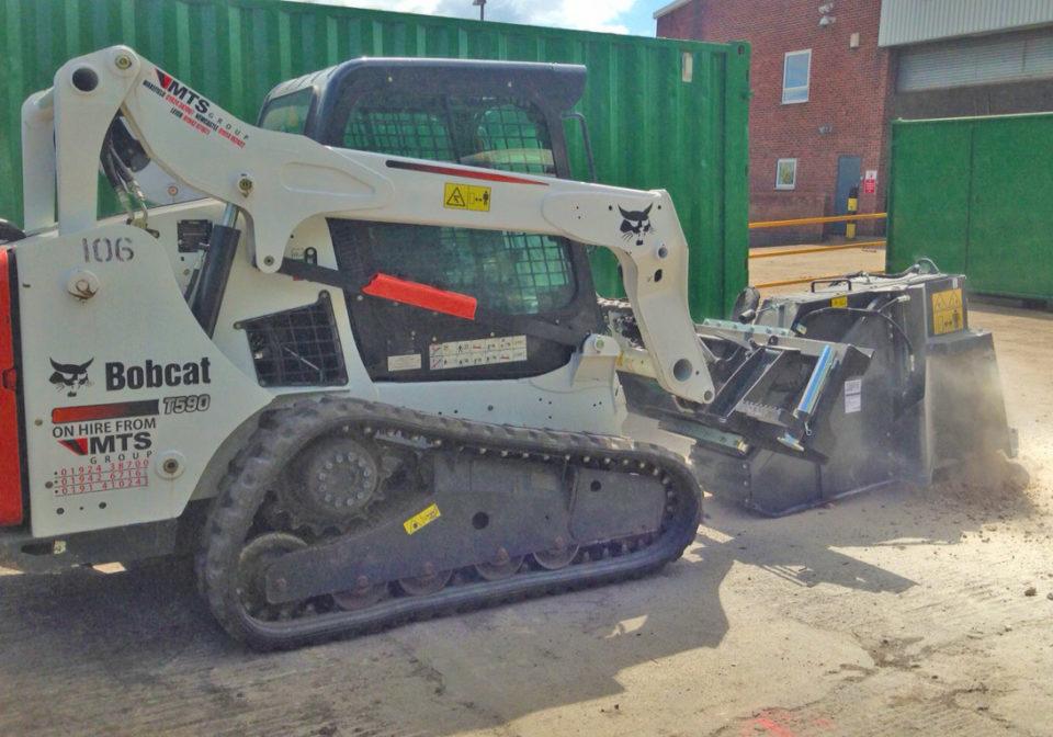 Bobcat Wheel Saw Rental