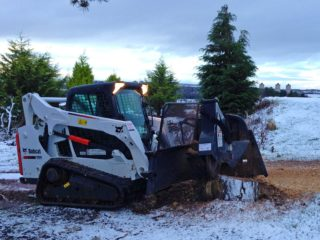 Bobcat and Stump Grinder Hire