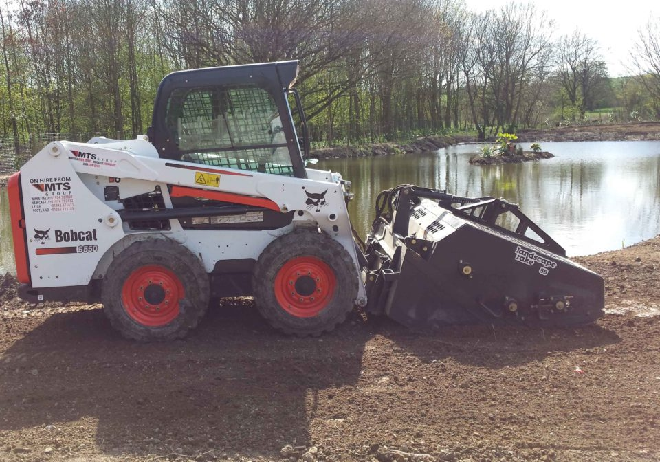 Bobcat Landscape Rake Attachment Hire | MTS Plant