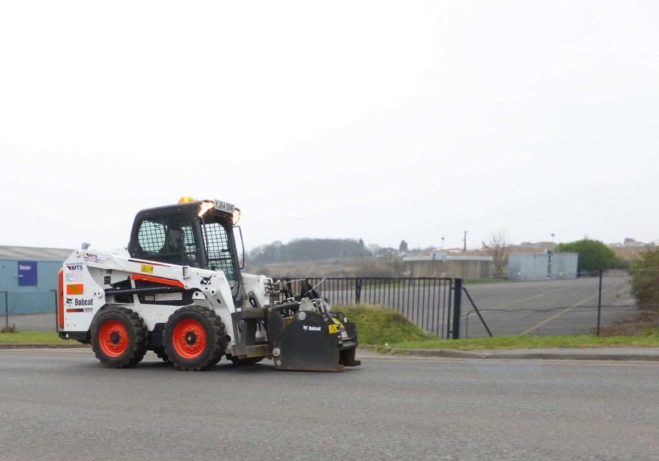 Bobcat road planer attachment for hire