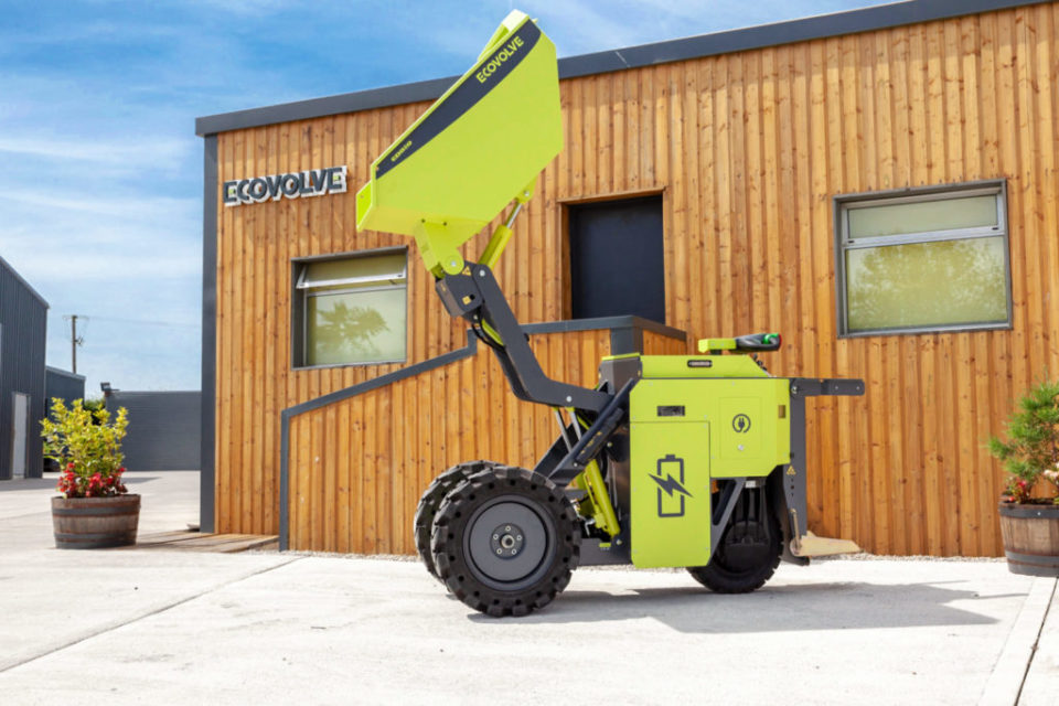 Ecovolve Electric Dumper For Hire