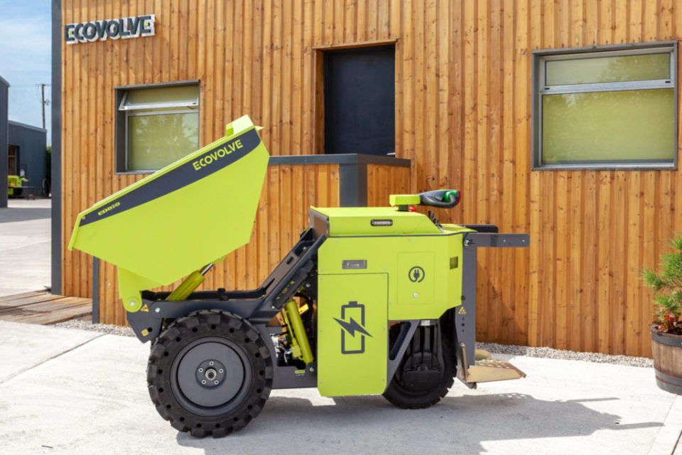Ecovolve ED1000 Electric Dumper For Hire