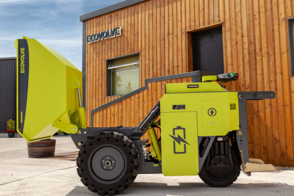 Ecovolve Electric Dumper to Hire