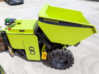 Ecovolve ED1000 Electric Dumper to Hire