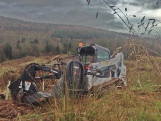 Forestry Equpment for hire scotland