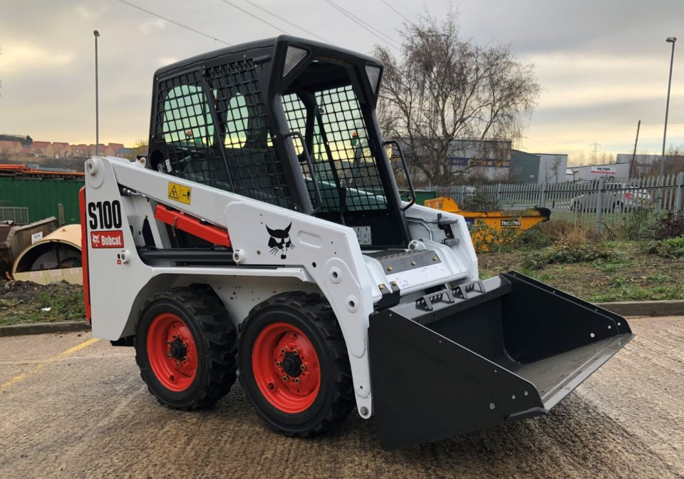 Bobcat S100 Compact skidsteer for hire
