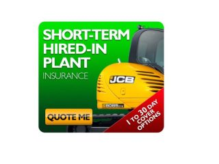plant machinery and vehicle insurance