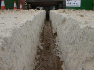 Microtrenching