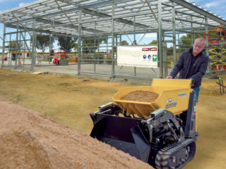 Mini Tracked Dumper Sales C08