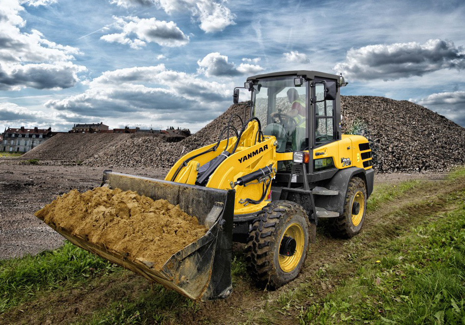 New Yanmar V70s Wheel Loader Sales
