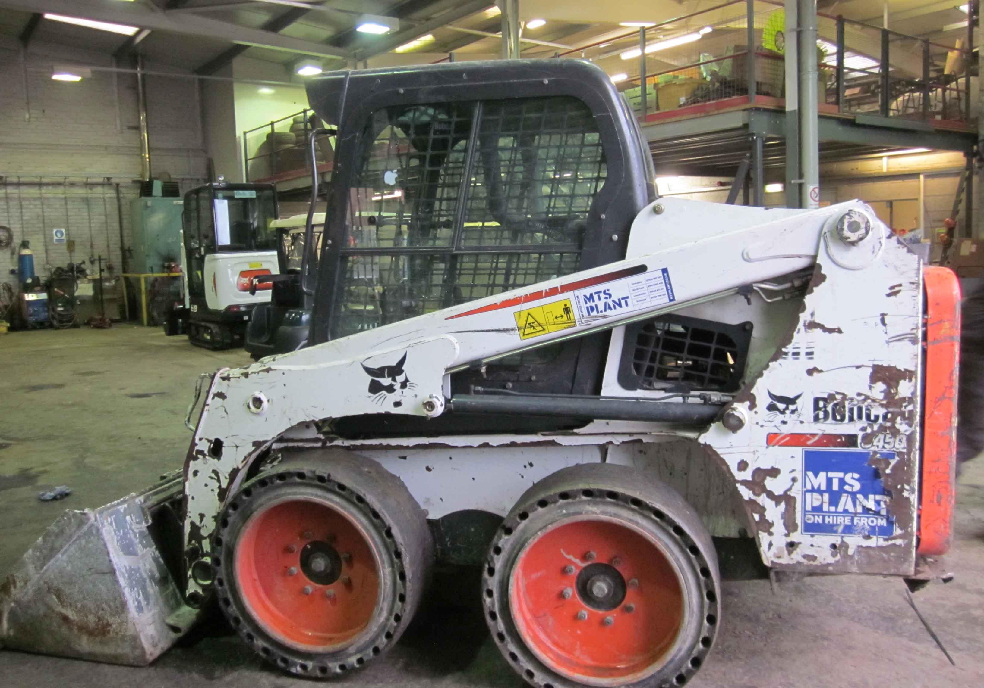 Used Bobcat S450 Skidsteer For Sale | MTS Plant Sales