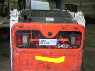 used bobcat s450 skidsteer for sale