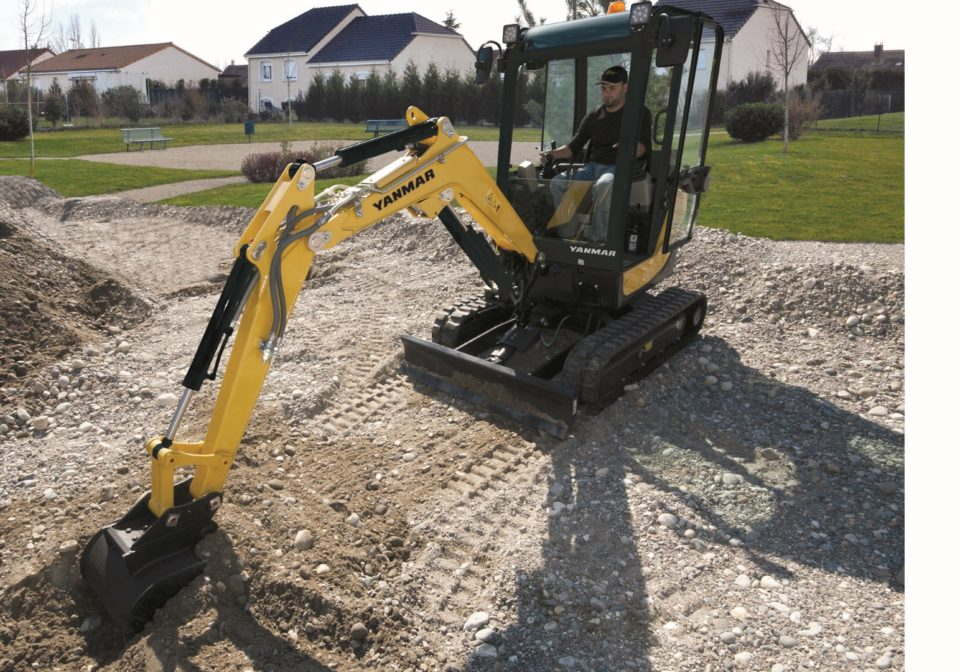 Yanmar SV18 mini excavator for sale