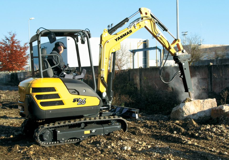 Yanmar SV26 Mini Digger sales