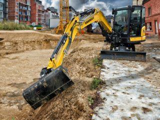 Yanmar SV60 midi excavator