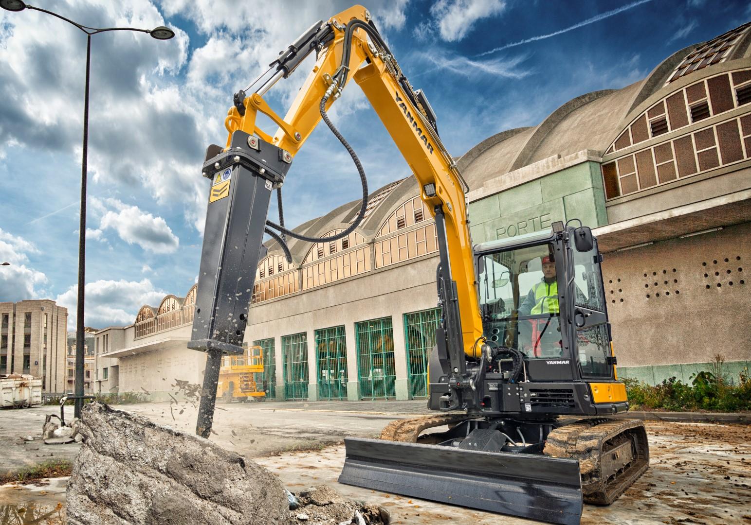 Yanmar SV60 midi excavator for sale