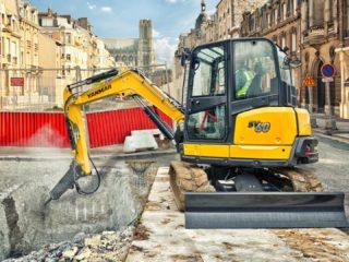 Yanmar SV60 midi excavator sales