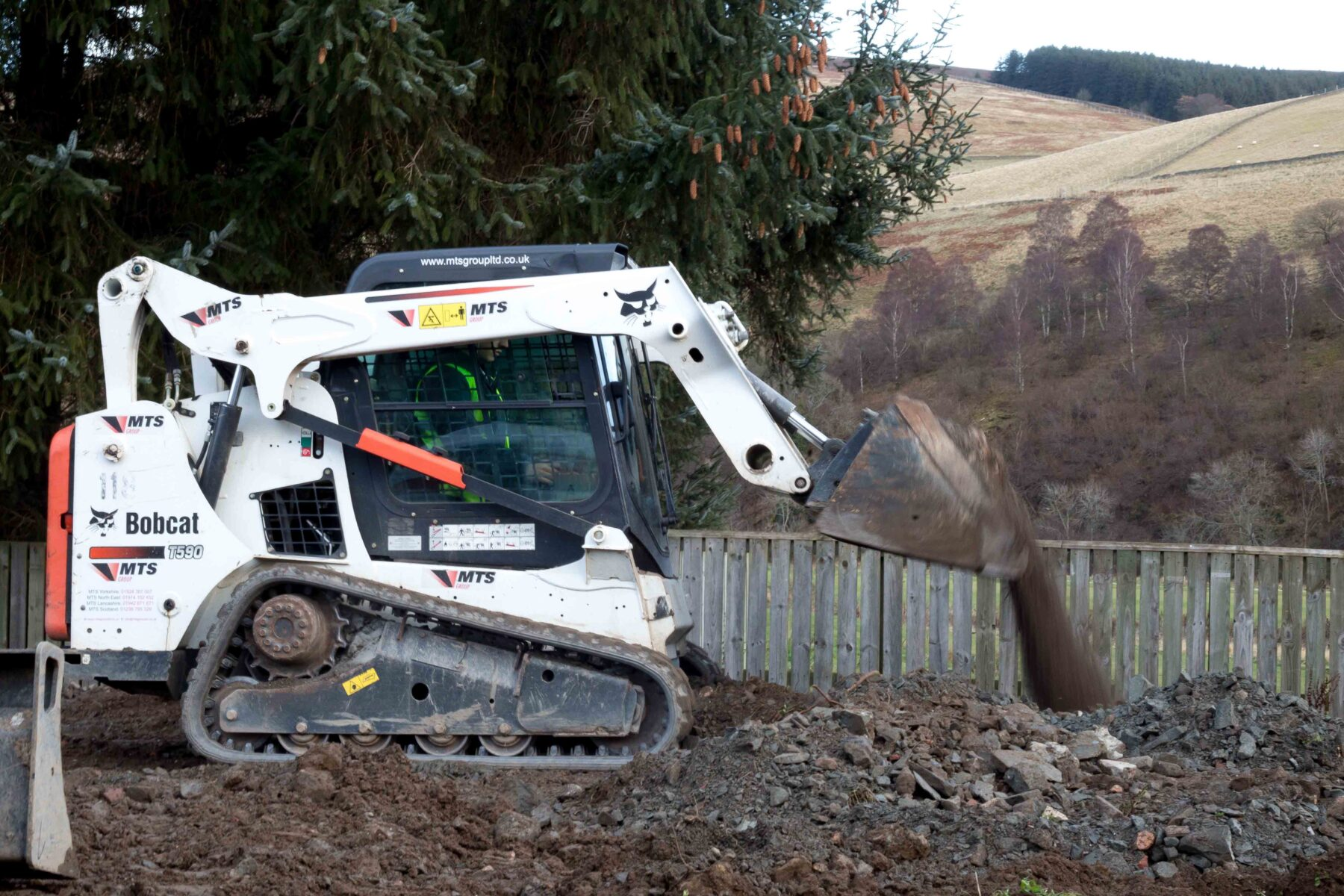 Tracked Loader Hire
