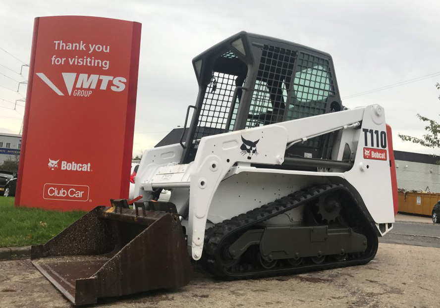 Used Bobcat T110 Skidsteer Loader