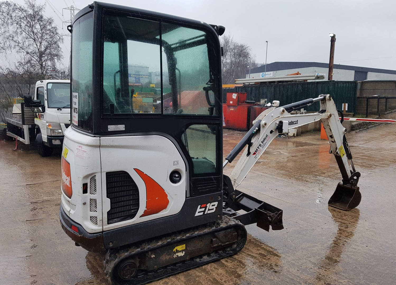 Used Bobcat E19 Mini Excavator for Sale | MTS Plant Sales