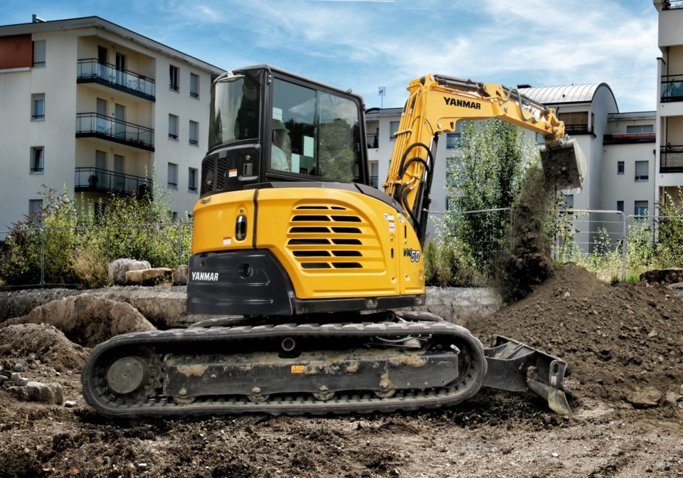 Yanmar ViO50 mini excavator for sale
