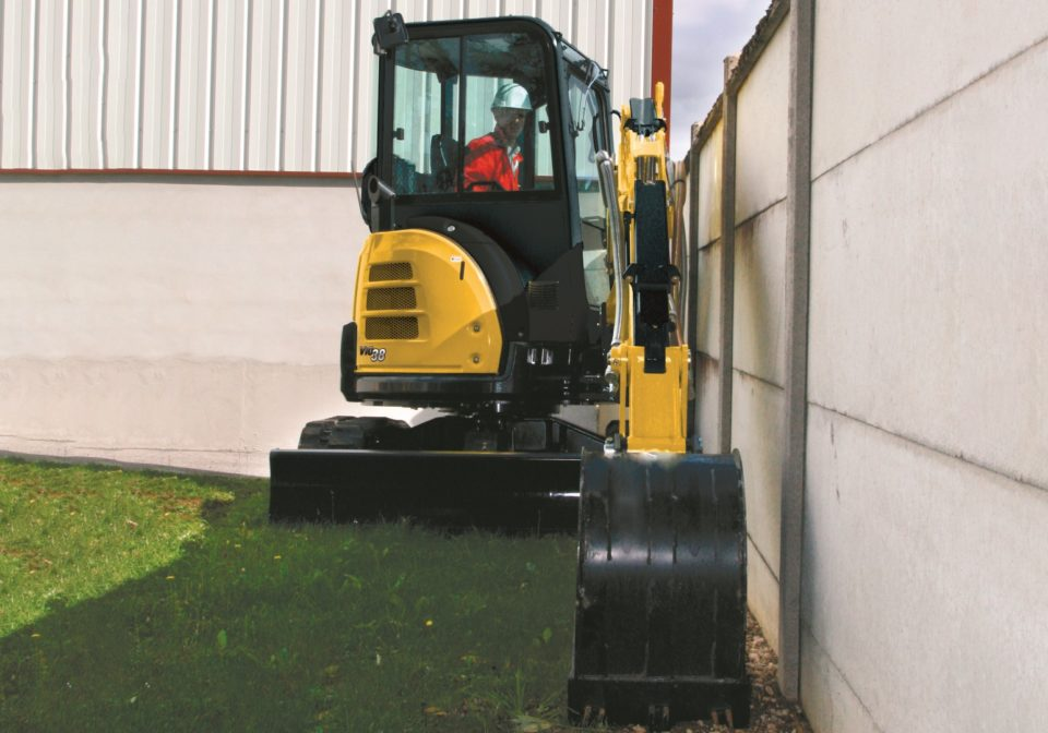 Yanmar ViO38 mini excavator for sale