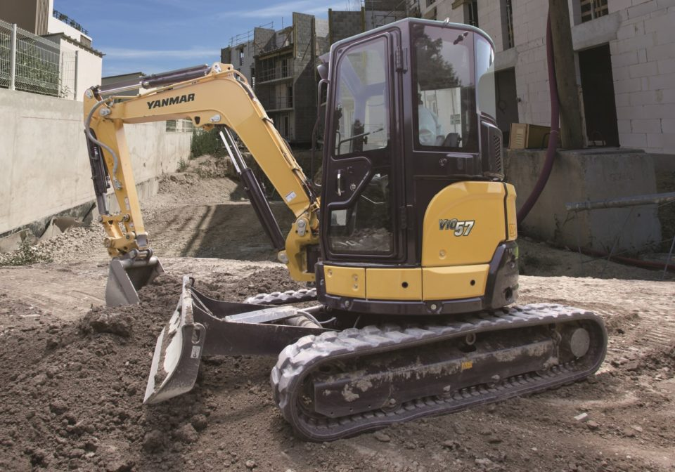 Yanmar ViO57 mini excavator sales