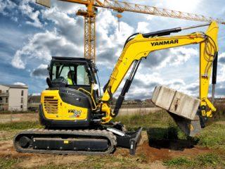 Yanmar ViO82 excavator sales