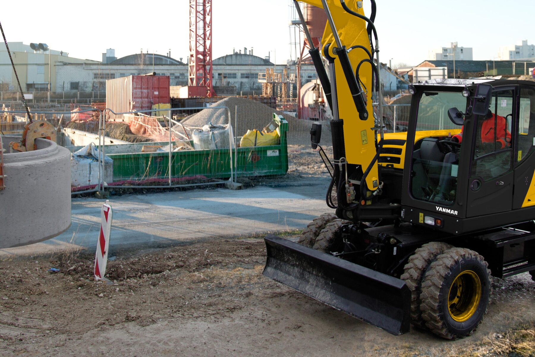 Wheeled Excavator Sales