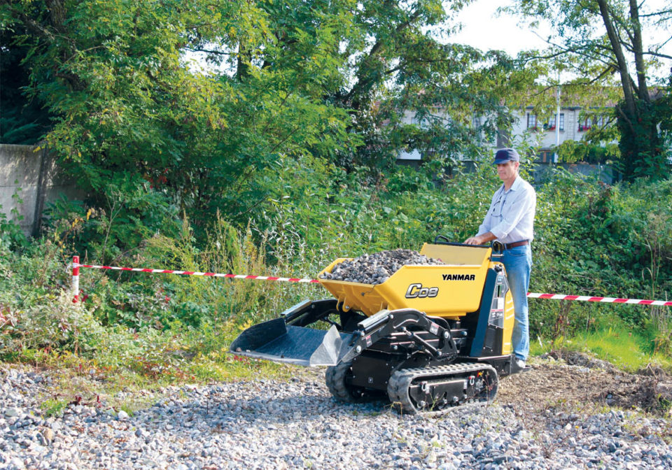 Yanmar C08 Compact 1.0 T Tracked Dumper