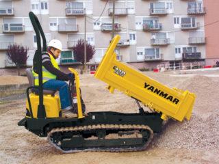 Yanmar C12 1 tonne Tracked Dumper For Sale