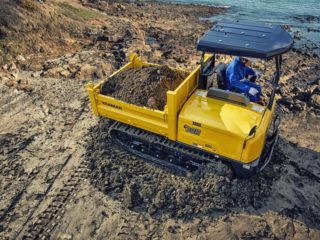 Yanmar C30R Tracked Dumper Sales