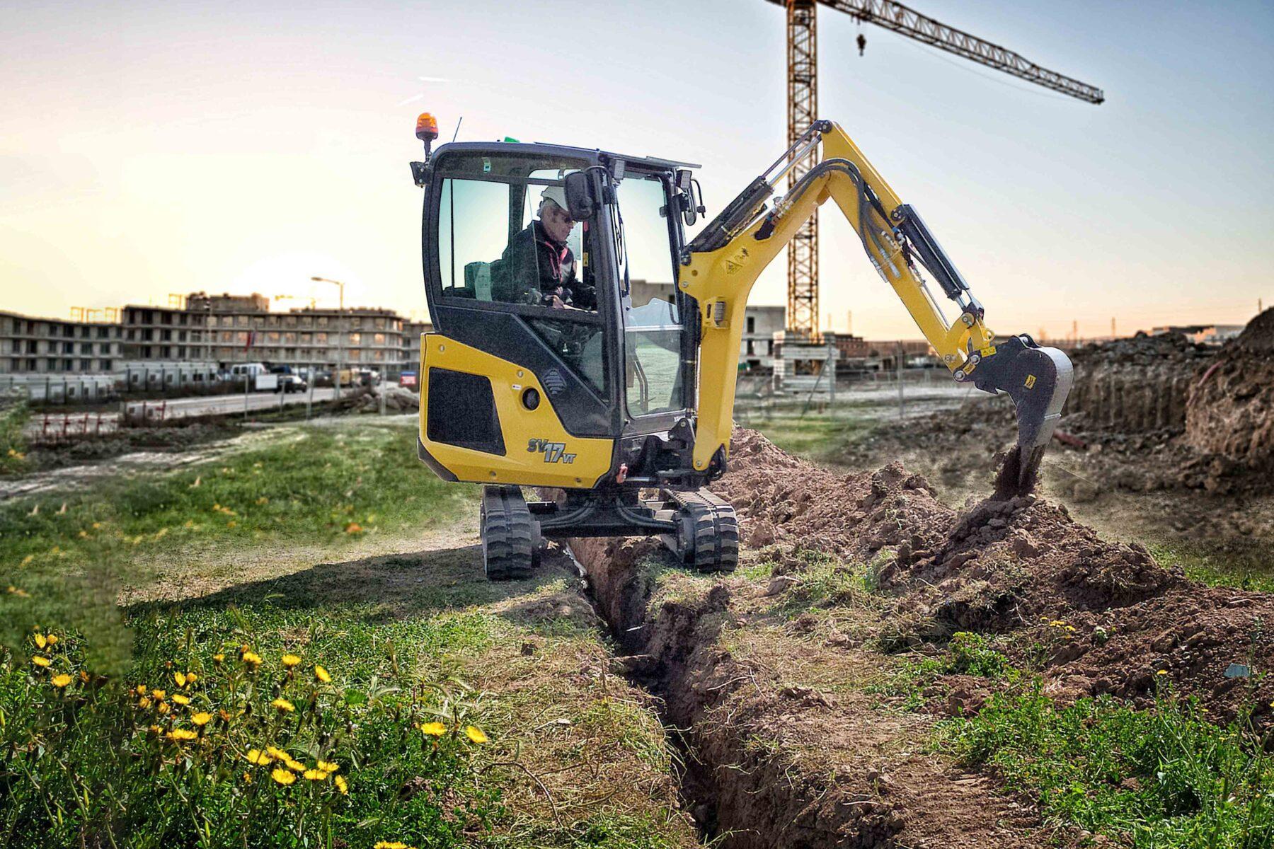 Yanmar SV17 Excavator