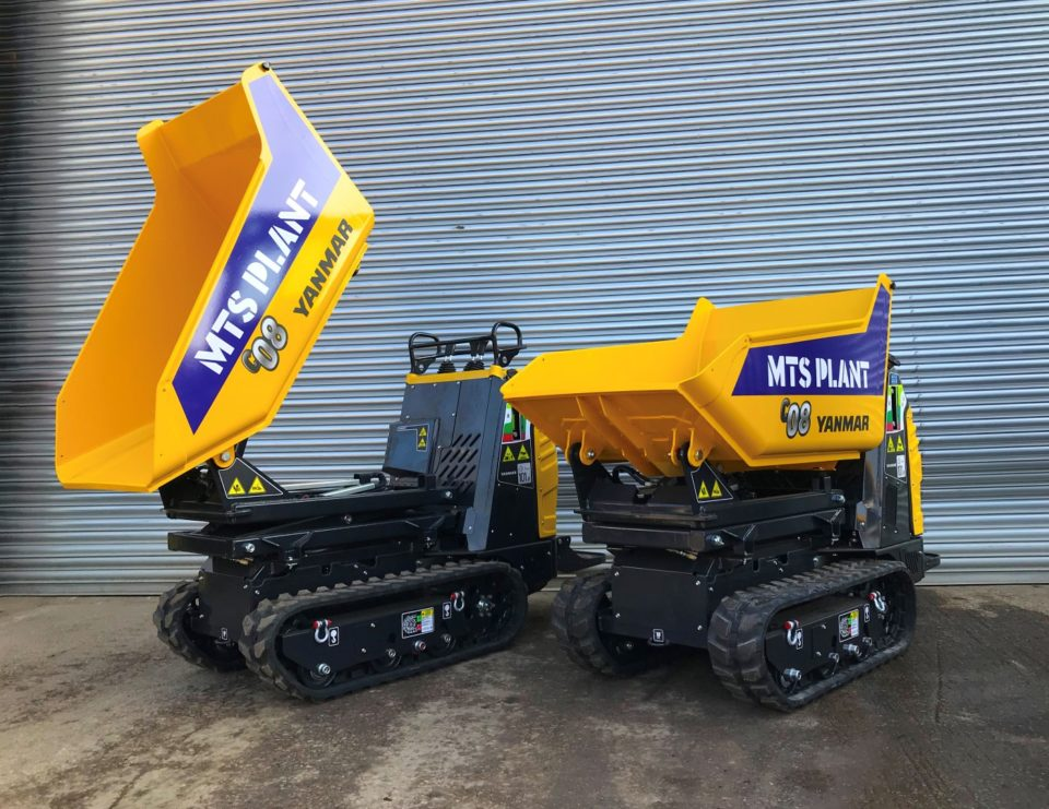 MTS Plant Invest in new Yanmar Tracked Dumpers for Rental Fleet